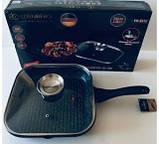 Сковорода-гриль с крышкой, 28см фирмы Edenberg EB-3310, фото 4