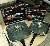 Сковорода-гриль с крышкой, 28см фирмы Edenberg EB-3310, фото 6