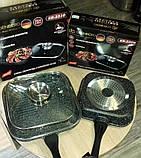 Сковорода-гриль с крышкой, 28см фирмы Edenberg EB-3310, фото 7