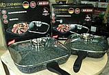 Сковорода-гриль с крышкой, 28см фирмы Edenberg EB-3310, фото 8
