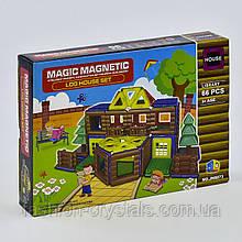 Магнитный конструктор библиотека 66 деталей