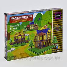 Магнитный конструктор коттедж 87 деталей