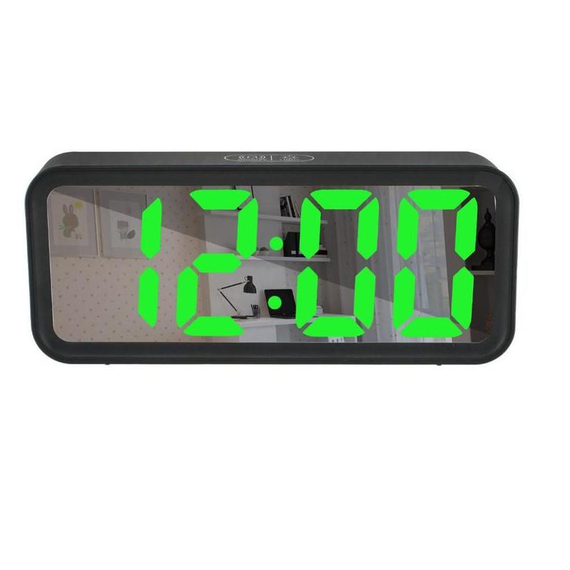 Часы настольные DT 6508 зеркальные