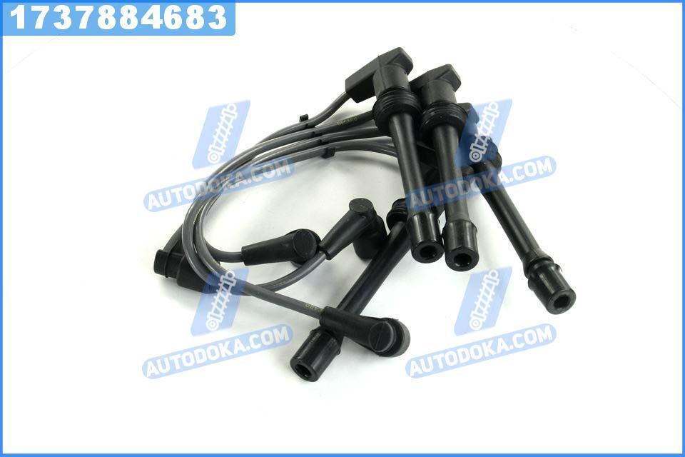 Провод зажигания ВАЗ 2110, 2111, 2112 16 клапанная инжектор силикон комплект (DECARO)  2110-3707080-02