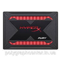 """Накопитель SSD 480GB Kingston HyperX Fury RGB 2.5"""" SATAIII 3D TLC"""