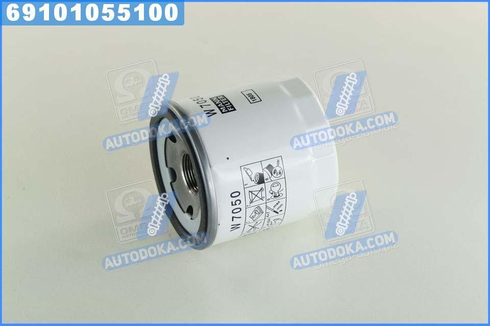 Фильтр масляный ФОРД TRANSIT 2.2, 2.4 TDCI 06-, PSA 2.2 HDI 11- (производство  MANN)  W7050