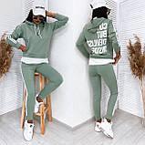 Спортивный костюм женский из турецкой двухнити, разные цвета, р.42-44,44-46 Код 200Р, фото 4