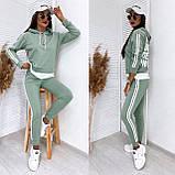 Спортивный костюм женский из турецкой двухнити, разные цвета, р.42-44,44-46 Код 200Р, фото 8