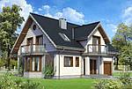 Будинок з мансардою - практично і красиво?
