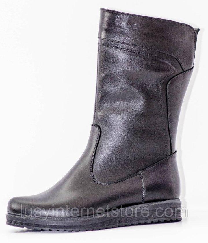 Сапоги зимние женские на широкую ногу от производителя РМ215