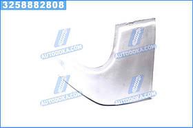 Буфер бампера Богдан 092 передній лівий (ікло) білий RAL 9003 (Дорожня Карта) А092-2803033-9003ДК
