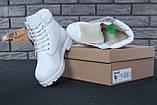 Женские зимние ботинки Timberland White женские ботинки тимберленд жіночі зимові черевики Timberland ботінки, фото 4
