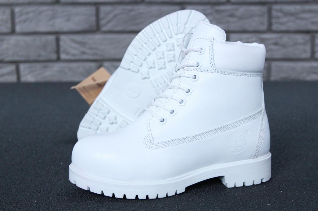 Женские зимние ботинки Timberland White женские ботинки тимберленд жіночі зимові черевики Timberland ботінки