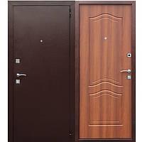Входная дверь Dominanta Медный Антик/Рустикальный дуб tarimus