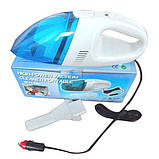 Компактний автомобільний пилосос High-power Vacuum Cleaner Portable, фото 7