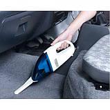 Компактний автомобільний пилосос High-power Vacuum Cleaner Portable, фото 9