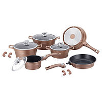 Набор посуды Royalty Line RL-ES 2014M Copper 14pcs