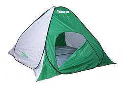 """Палатка """"Fishing ROI"""" Storm-3 (220*220*150см.) white-green"""