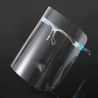 Защитный экран для лица, пластиковый, фото 1
