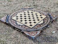 Нарди, шахи, шашки ручної роботи КОЗАКИ VIP (70х70 див) + чохол