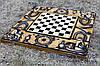 Нарды, шахматы, шашки ручной работы СУЛТАН (70х70 см.)