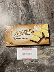 Черно-белый шоколад Choceur со вкусом кофе 200 грм
