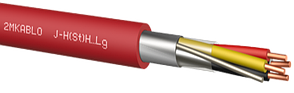 Кабель J-H(St)H 1х2х0,8 для подключения телефонного, измерительного и контрольного оборудования, фото 2