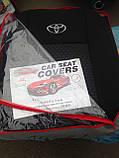 Авточохли Favorite на Toyota Yaris 2006-2011 sedan (арабська версія ), фото 2