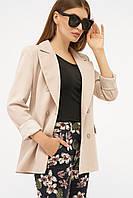 Жіночий піджак бежевого кольору