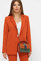 Піджак жіночий оранжевого кольору