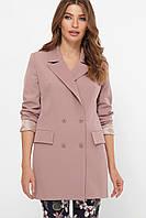 Піджак двобортний жіночий лілового кольору