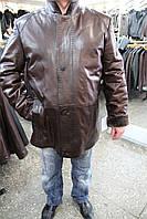 Дубленка мужская 009/коричневый