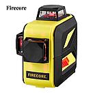 Лазерный уровень 3D Firecore F93T-XR 12линий + приемник, фото 2