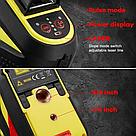 Лазерный уровень 3D Firecore F93T-XR 12линий + приемник, фото 4