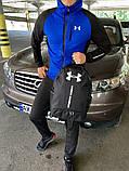 Мужской спортивный костюм Under Armour черно синий, фото 3