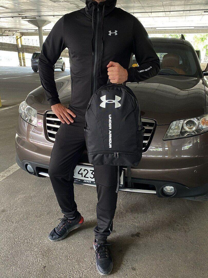 Мужской спортивный костюм Under Armour черный