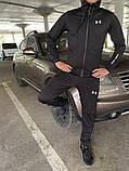 Мужской спортивный костюм Under Armour черный, фото 2