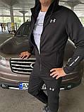Мужской спортивный костюм Under Armour черный, фото 3