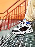 Мужские кроссовки в стиле Nike Air Monarch (black/white), Найк Аир Монарх (Реплика ААА), фото 2