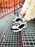Мужские кроссовки в стиле Nike Air Monarch (black/white), Найк Аир Монарх (Реплика ААА), фото 3