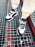 Мужские кроссовки в стиле Nike Air Monarch (black/white), Найк Аир Монарх (Реплика ААА), фото 6