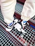 Мужские кроссовки в стиле Nike Air Monarch (black/white), Найк Аир Монарх (Реплика ААА), фото 8