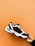 Мужские кроссовки в стиле Nike Air Monarch (black/white), Найк Аир Монарх (Реплика ААА), фото 10