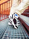 Мужские кроссовки в стиле Nike Air Monarch (black/white), Найк Аир Монарх (Реплика ААА), фото 5