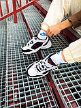 Мужские кроссовки в стиле Nike Air Monarch (black/white), Найк Аир Монарх (Реплика ААА), фото 9