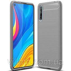 TPU чехол Slim Series для Huawei Y8p (2020) / P Smart S Серый