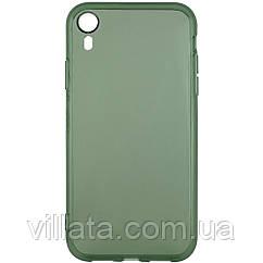 """Матовый полупрозрачный TPU чехол с защитой камеры для Apple iPhone XR (6.1"""")"""