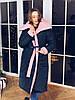 Двустороннее зимнее пальто одеяло, фото 2