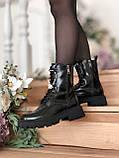 Жіночі шкіряні черевики Balenciaga (Баленсіага), фото 5