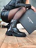 Жіночі шкіряні черевики Balenciaga (Баленсіага), фото 7